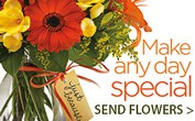 Send flowers to bring a smile to someone's face!